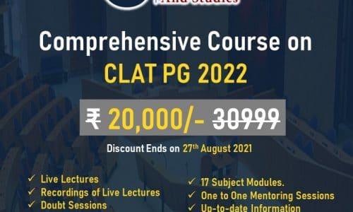 CLAT PG 2022 Coaching – Annual Batch